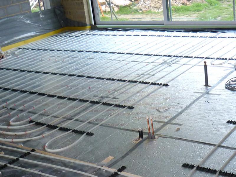 Underfloor Heating System For Kitchen In West Sussex