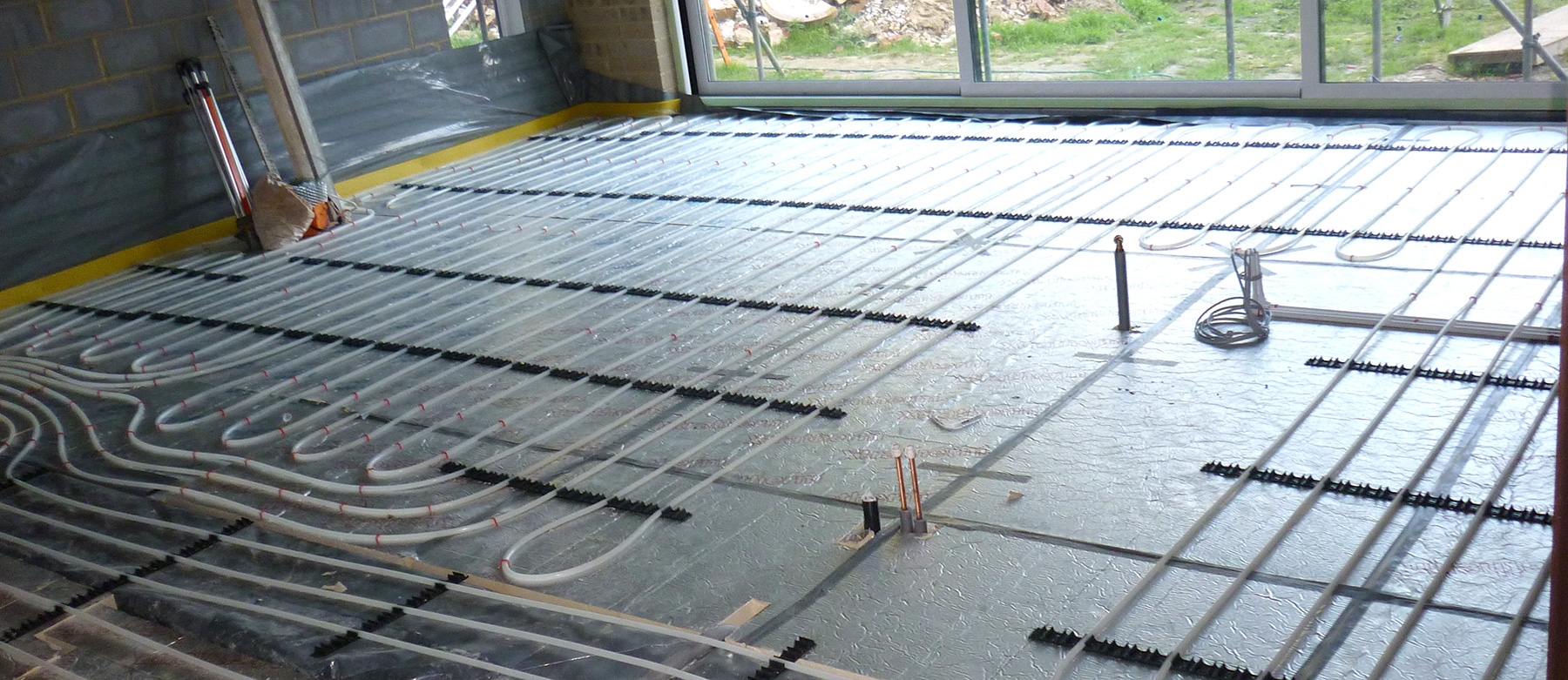 Kitchen Island Underfloor Heating